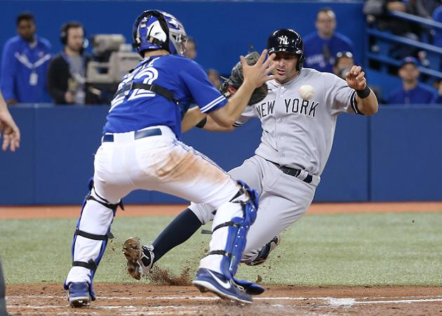 Replay and new home plate collision rules come together on cont…