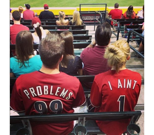 These Diamondbacks fans have 99 problems, but custom jerseys ar…