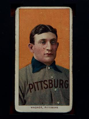 Honus Wagner's rare T206 card sells for record $2.1 million at …