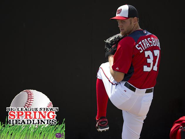 Spring Headlines: Stephen Strasburg in mid-season form; Aroldis…