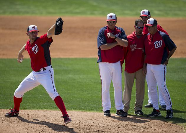 Stephen Strasburg survives being struck by Prince Fielder line …