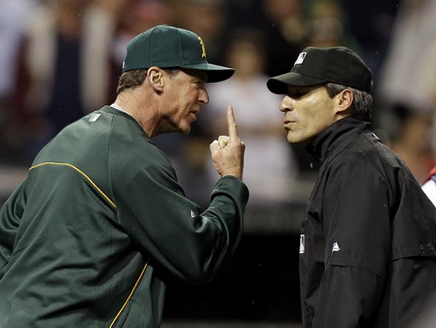 Botched home run review helps Indians steal victory from A's (V…