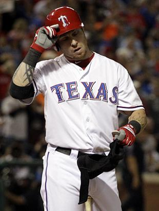 Josh Hamilton's season ends on lowest of lows