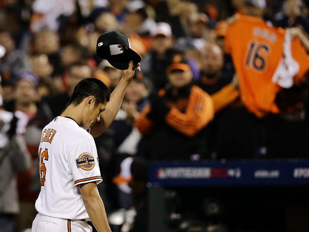 MLB Notebook: Chen joins O's first-time playoff victors