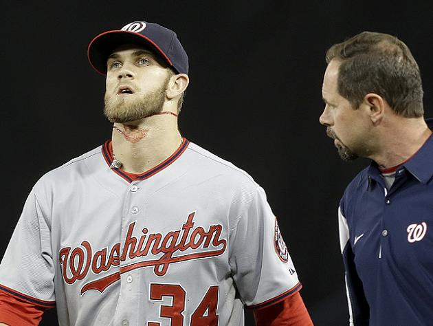 Report: Bryce Harper likely headed to DL with bursitis in left …