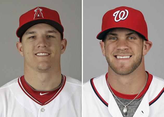 Phenoms Mike Trout and Bryce Harper come full circle with ROY s…