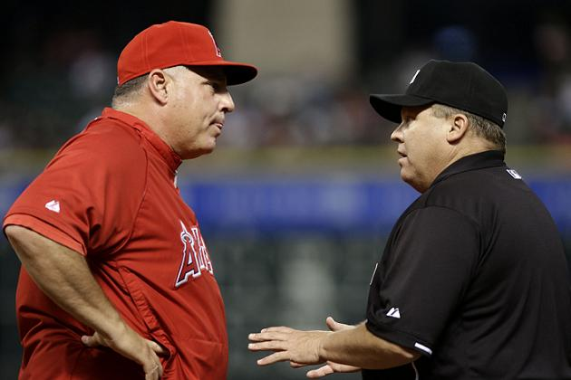 Umpire Fieldin Culbreth suspended two games for misapplication …