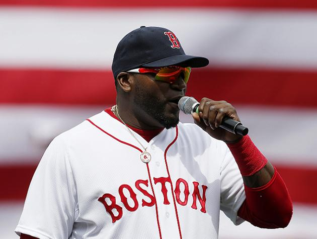 David Ortiz selling bats brandishing famous Boston speech quote…