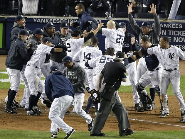 ALDS Game 3: Raul Ibanez's late home runs lead Yankees to victo…