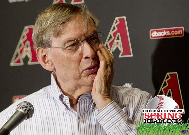 Spring Headlines: Bud Selig calls for tougher PED penalties, Ic…