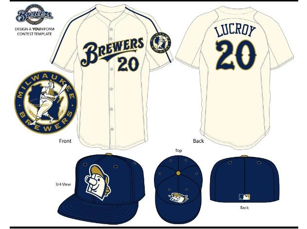 Brewers announce uniform design winner