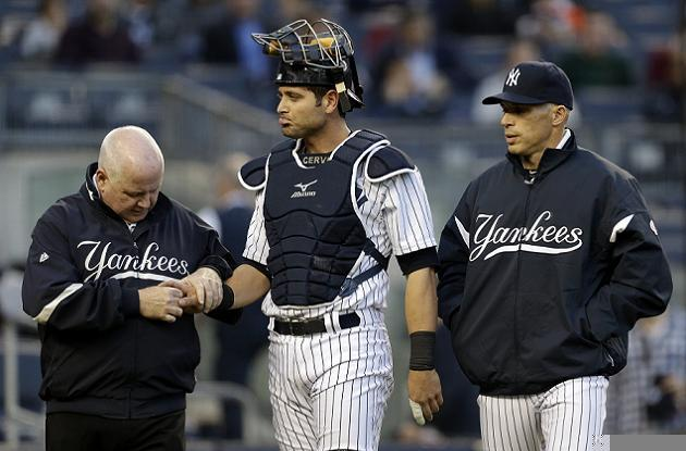 Yankees lose Francisco Cervelli to broken hand; Ivan Nova leave…