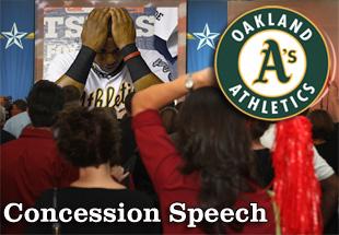 Concession Speech: 2012 Oakland Athletics