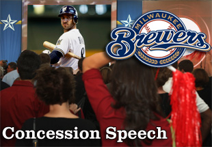 Concession Speech: 2012 Milwaukee Brewers