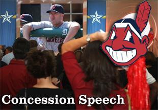 Concession Speech: 2012 Cleveland Indians