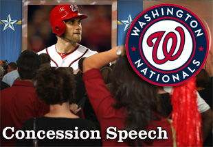 Concession Speech: 2012 Washington Nationals