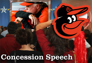 Concession Speech: 2012 Baltimore Orioles