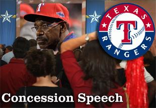 Concession Speech: 2012 Texas Rangers