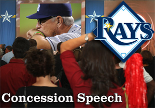 Concession Speech: 2012 Tampa Bay Rays