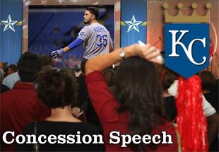 Concession Speech: 2012 Kansas City Royals