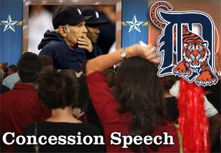 Concession Speech: 2012 Detroit Tigers