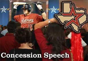 Concession Speech: 2012 Houston Astros
