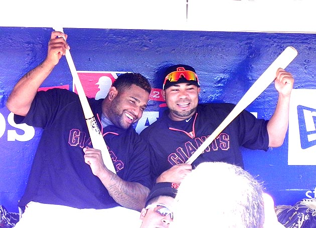 Giants, Cardinals ready to rock at the NLCS (Photos)