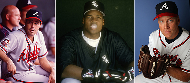 Greg Maddux, Tom Glavine, Frank Thomas earn Hall of Fame honors…