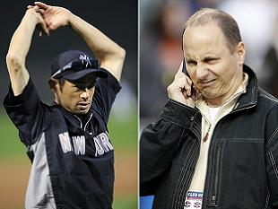 Brian Cashman responds to comments from Ichiro's disgruntled ag…