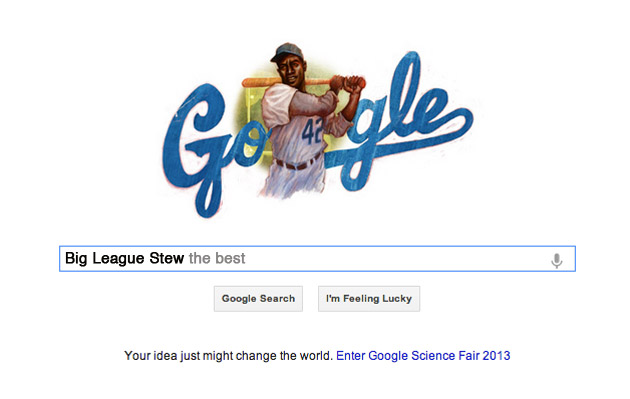 Jackie Robinson gets Google Doodle on birthday