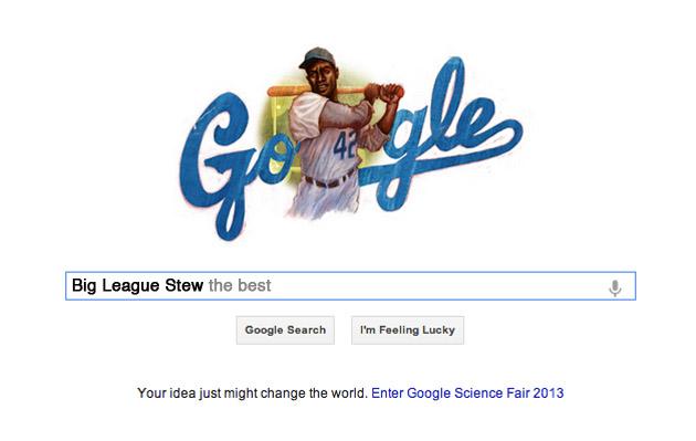 Jackie Robinson gets Google Doodle on birthday