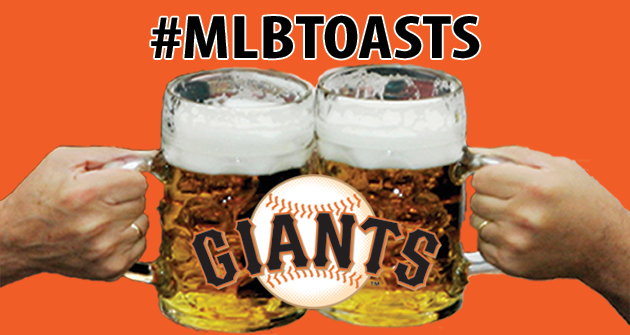 A toast to the 2013 San Francisco Giants