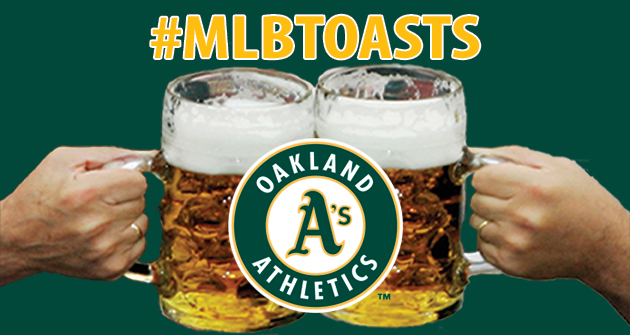A toast to the 2013 Oakland Athletics