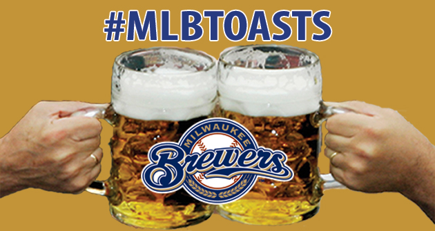 A toast to the 2013 Milwaukee Brewers