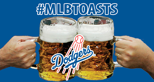 A toast to the 2013 Los Angeles Dodgers