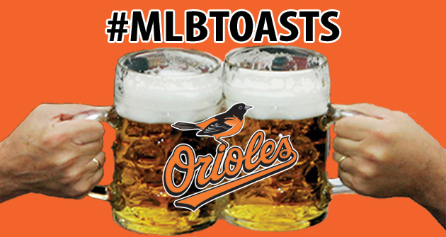 A toast to the 2013 Baltimore Orioles