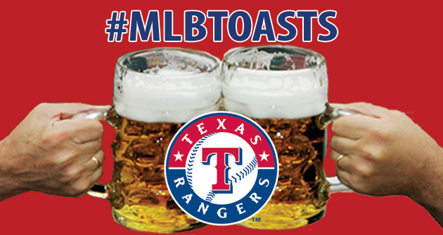 A toast to the 2013 Texas Rangers