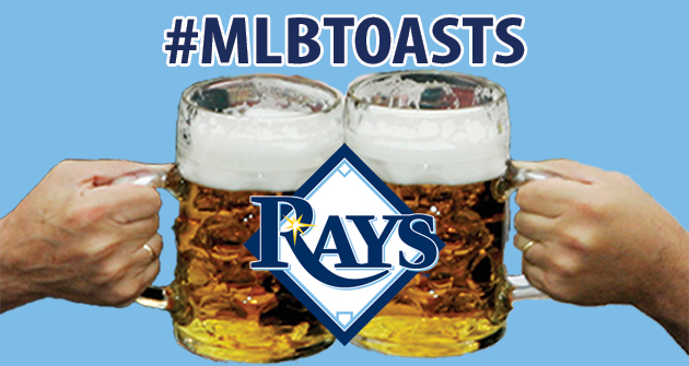 A toast to the 2013 Tampa Bay Rays
