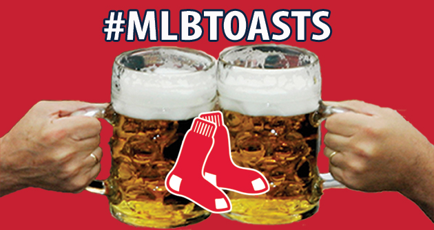 A toast to the 2013 Boston Red Sox