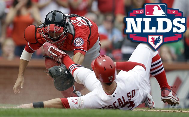Nats, Cards square off in Game 1 of NLDS