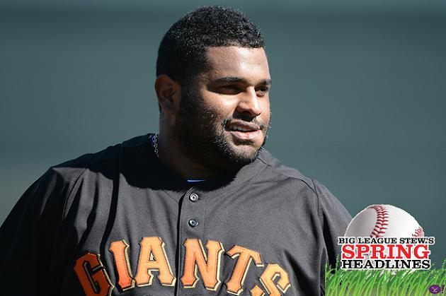 Spring Headlines: Pablo Sandoval weight concerns resurface; No …