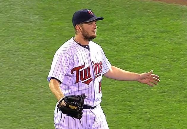 Twins closer Glen Perkins converts two-thirds of a save with hi…