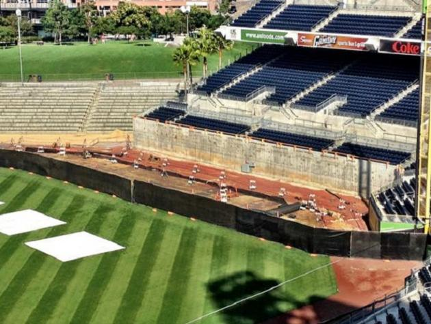 Photos: First look at Petco Park's new dimensions