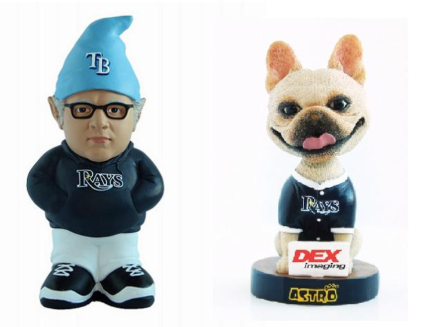 Rays to give away Joe Maddon gnome and bobblehead of David Pric…