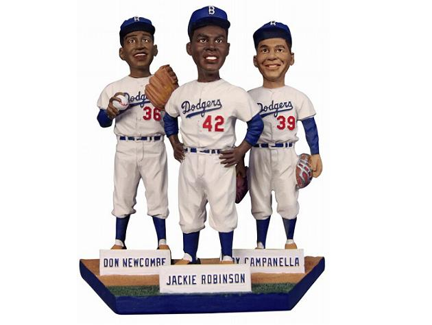Dodgers to give away Jackie Robinson, Roy Campanella and Don Ne…