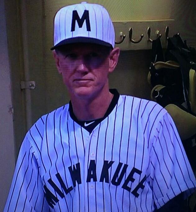 Welcome to Milwakuee: Ron Roenicke's throwback uniform features…