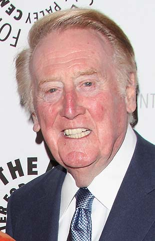 Vin Scully returning in '14 for 65th Dodgers season