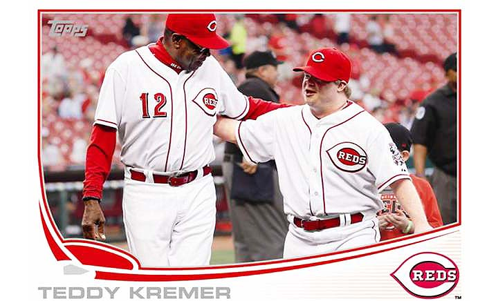 Ted Kremer — the Cincinnati Reds bat boy with Down syndrome — g…