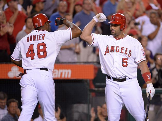 Report: Torii Hunter and Albert Pujols nearly fought in Angels …
