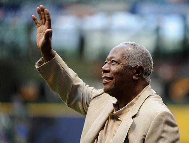 Hank Aaron has partial hip replacement surgery after falling on…